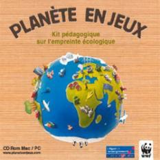 La planète en jeux - Kit pédagogique sur l'empreinte écologique