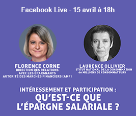 FacebookLive Epargne salariale