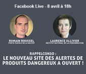 Facebook Live RappelConso