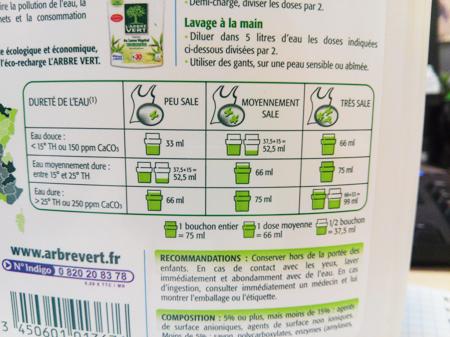 Lessives le point sur leur composition institut national de la consommation - Lave linge dosage automatique lessive ...