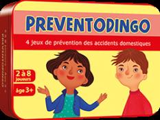 Préventodingo : jeux de prévention des accidents domestiques