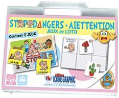 Les jeux :  Stopodangers + Aïettention – 4 à 6 ans