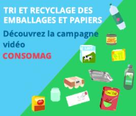 Tri et recyclage des emballages et papiers