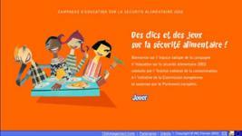 Sécurité alimentaire : site + jeu
