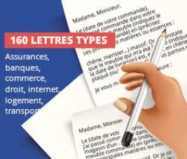 160 lettres types pour régler vos litiges