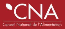 Conseil national de l'alimentation - CNA
