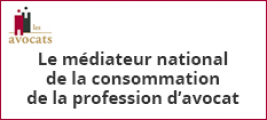 Médiateur national de la consommation de la profession d'avocat